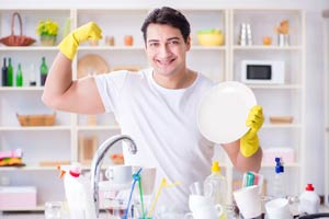 Do women find washing the dishes attractive?