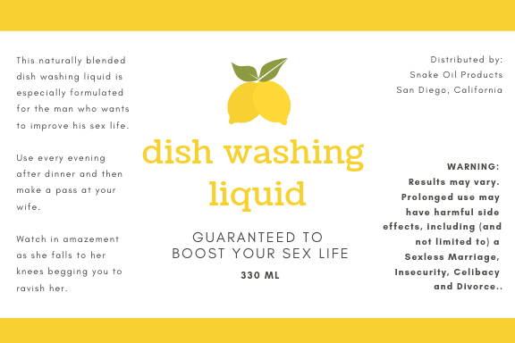 Can washing the dishes make your wife more attracted to you?